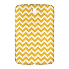 Sunny Yellow & White Zigzag Pattern Samsung Galaxy Note 8 0 N5100 Hardshell Case