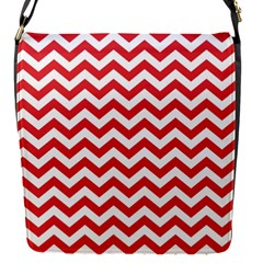 Poppy Red & White Zigzag Pattern Removable Flap Cover (s)