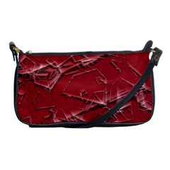 Thorny Abstract,red Shoulder Clutch Bags by MoreColorsinLife