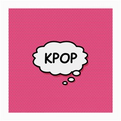 Comic Book Think Kpop Pink Medium Glasses Cloth by ComicBookPOP