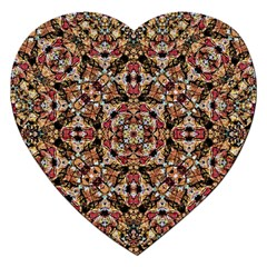 Boho Chic Jigsaw Puzzle (heart) by dflcprints