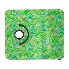 Green Glowing Samsung Galaxy S  Iii Flip 360 Case by FunkyPatterns