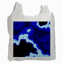 Blues Recycle Bag (one Side) by TRENDYcouture