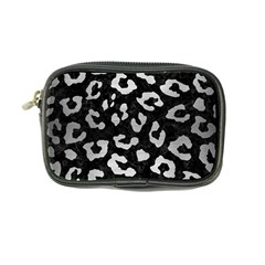 Skin5 Black Marble & Silver Brushed Metal (r) Coin Purse by trendistuff