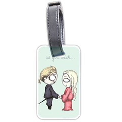As You Wish Luggage Tags (two Sides) by lvbart