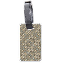 Cobblestone Geometric Texture Luggage Tags (one Side)  by dflcprints