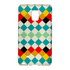 Rhombus Pattern                                                              			samsung Galaxy Note Edge Hardshell Case by LalyLauraFLM