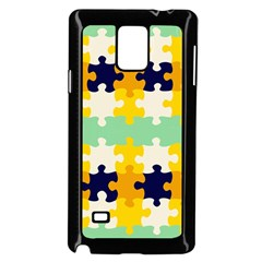 Puzzle Pieces                                                                     			samsung Galaxy Note 4 Case (black) by LalyLauraFLM