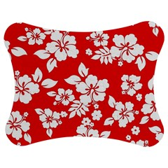 Red Hawaiian Jigsaw Puzzle Photo Stand (bow) by AlohaStore