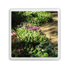 Shadowed Ground Cover Memory Card Reader (square)  by ArtsFolly
