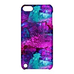 Melting In Purple Apple Ipod Touch 5 Hardshell Case With Stand