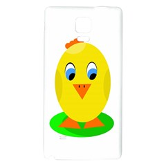 Cute Chicken  Galaxy Note 4 Back Case by Valentinaart