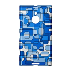 Blue Decorative Abstraction Nokia Lumia 1520 by Valentinaart
