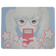 Gamegirl Girl Play With Star Jigsaw Puzzle Photo Stand (rectangular) by kaoruhasegawa