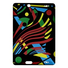Optimistic Abstraction Amazon Kindle Fire Hd (2013) Hardshell Case by Valentinaart