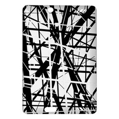 Black And White Abstract Design Amazon Kindle Fire Hd (2013) Hardshell Case by Valentinaart