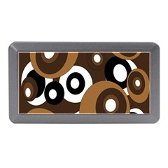 Brown Pattern Memory Card Reader (mini) by Valentinaart