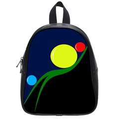 Falling Boalls School Bags (small)  by Valentinaart