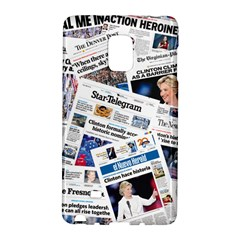 Hillary 2016 Historic Newspapers Galaxy Note Edge by uspoliticalhistory