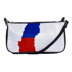 Flag Map Of Chile  Shoulder Clutch Bags by abbeyz71