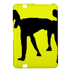 Black Dog Kindle Fire Hd 8 9  by Valentinaart