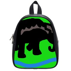 Elephand School Bags (small)  by Valentinaart