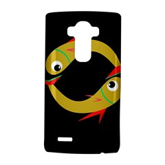 Yellow Fishes Lg G4 Hardshell Case by Valentinaart