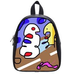 Abstract Comic School Bags (small)  by Valentinaart