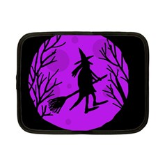 Halloween witch - Purple moon Netbook Case (Small)  by Valentinaart