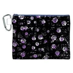Purple soul Canvas Cosmetic Bag (XXL) by Valentinaart