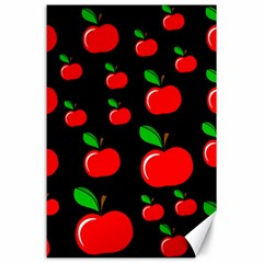 Red Apples  Canvas 24  X 36  by Valentinaart