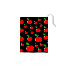 Red Apples  Drawstring Pouches (xs)  by Valentinaart