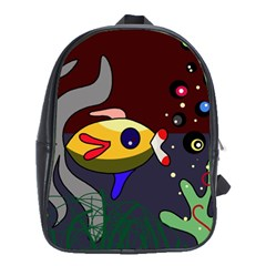 Fish School Bags (xl)  by Valentinaart