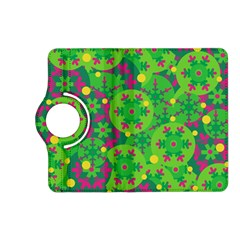 Christmas Decor   Green Kindle Fire Hd (2013) Flip 360 Case by Valentinaart