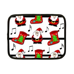 Christmas song Netbook Case (Small)  by Valentinaart