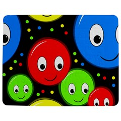 Smiley Faces Pattern Jigsaw Puzzle Photo Stand (rectangular) by Valentinaart