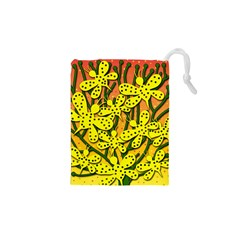 Bees Drawstring Pouches (xs)  by Valentinaart