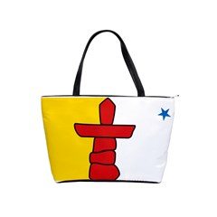 Flag Of Nunavut  Shoulder Handbags by abbeyz71