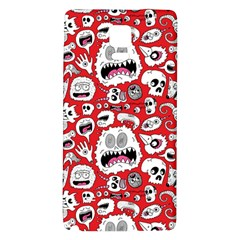Another Monster Pattern Galaxy Note 4 Back Case by AnjaniArt