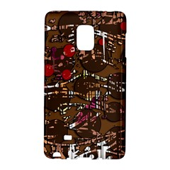 Brown confusion Galaxy Note Edge by Valentinaart