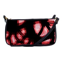 Red light Shoulder Clutch Bags by Valentinaart