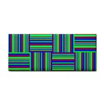 Fabric Pattern Design Cloth Stripe Hand Towel Front