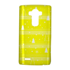 Yellow Xmas Lg G4 Hardshell Case by Valentinaart