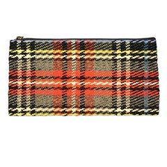 Fabric Texture Tartan Color  Pencil Cases by AnjaniArt