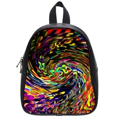 Abstract Art, Colorful, Texture School Bags (small)  by AnjaniArt