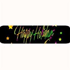 Happy Holidays 4 Large Bar Mats by Valentinaart