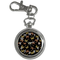 Insects Motif Pattern Key Chain Watches by dflcprints