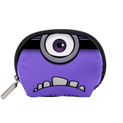 Evil Purple Accessory Pouches (small)  by Onesevenart