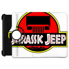 Jurassic Jeep Park Kindle Fire Hd Flip 360 Case by Onesevenart