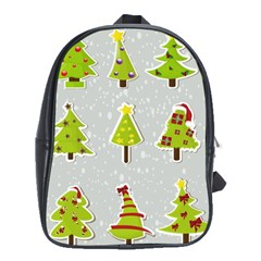 Christmas Elements Stickers School Bags (xl)  by AnjaniArt